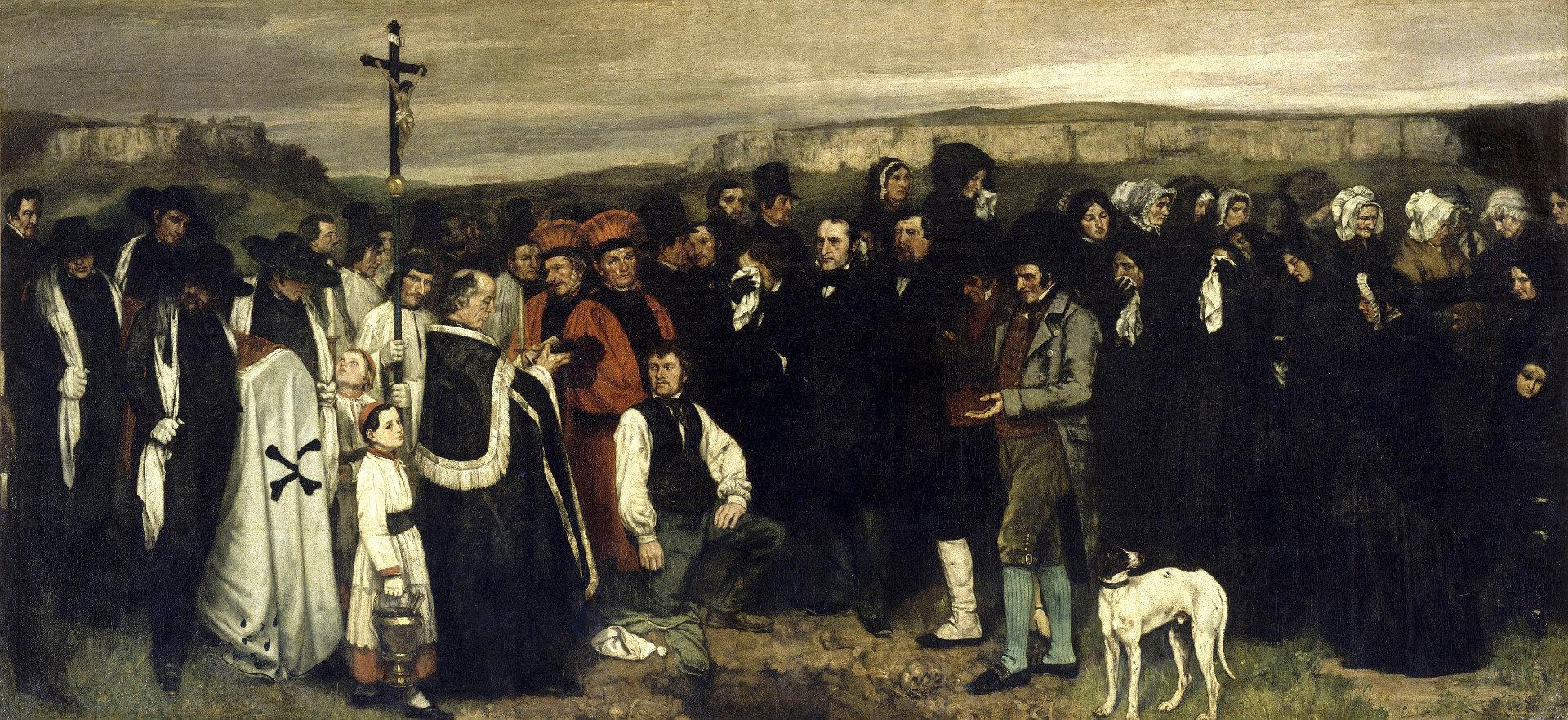 Un enterrement à Ornans