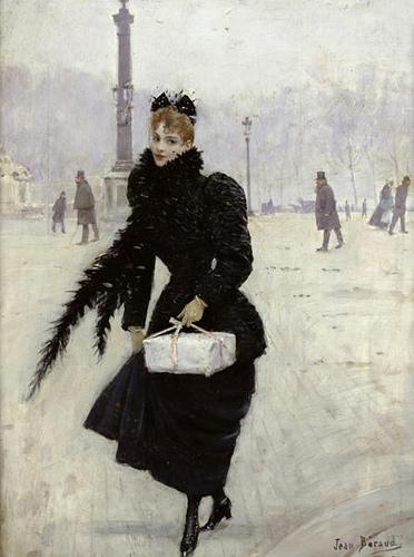 Une passante à Paris