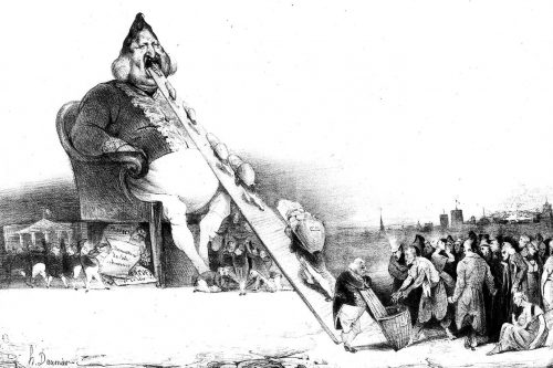Caricature de Louis-Philippe