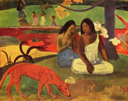 Tableau Arearea de Paul Gauguin