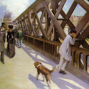 Pont de l'Euope par Caillebotte