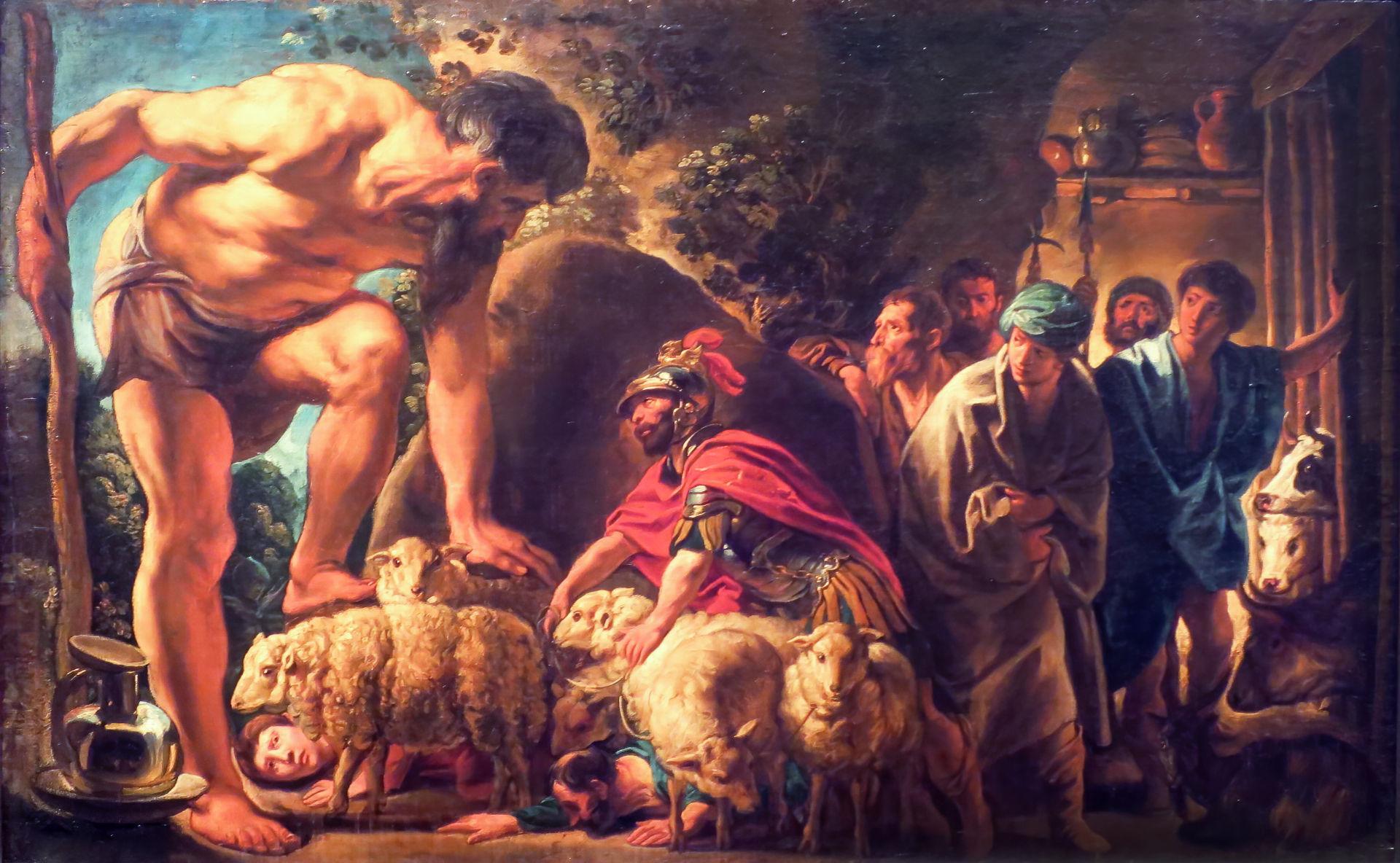 L'Odyssée, le rusé Ulysse et les monstres
