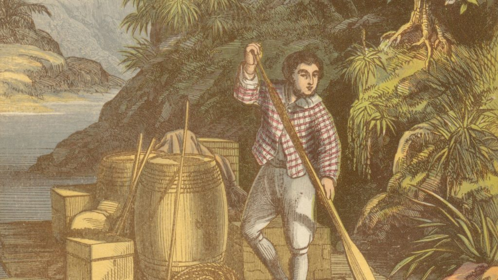 Séquence 5ème Robinson Crusoé