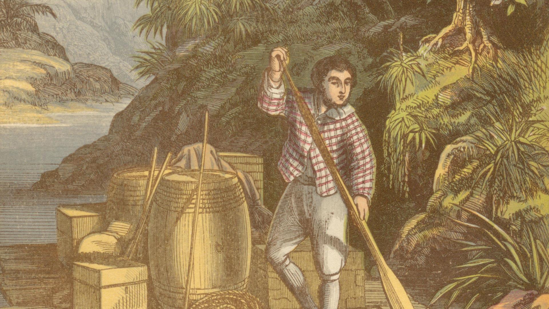 Robinson Crusoé, maître de la nature?