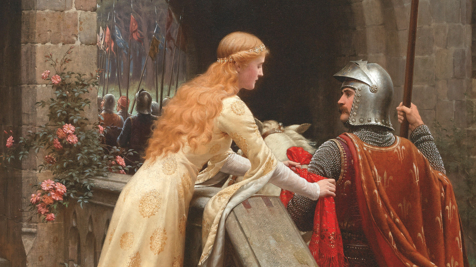 Les chevaliers, du registre épique à l'amour courtois